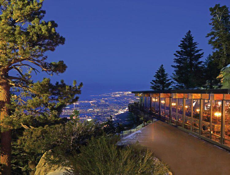 Mountain-Station-Peaks-Nighttime