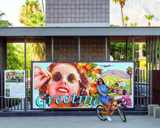 greetings mural