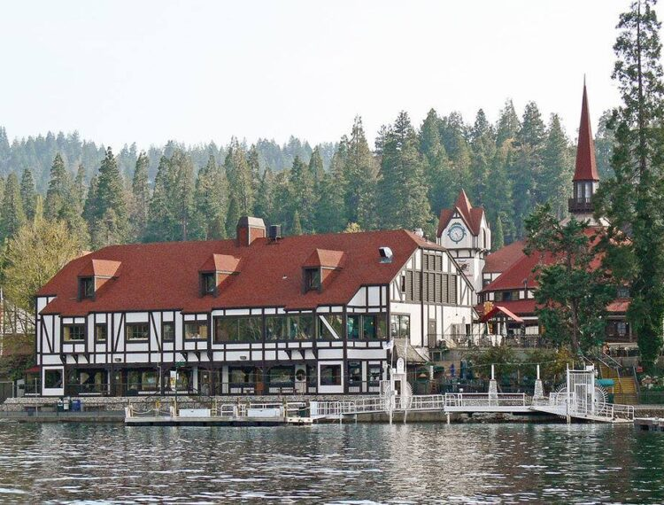 lakeside building