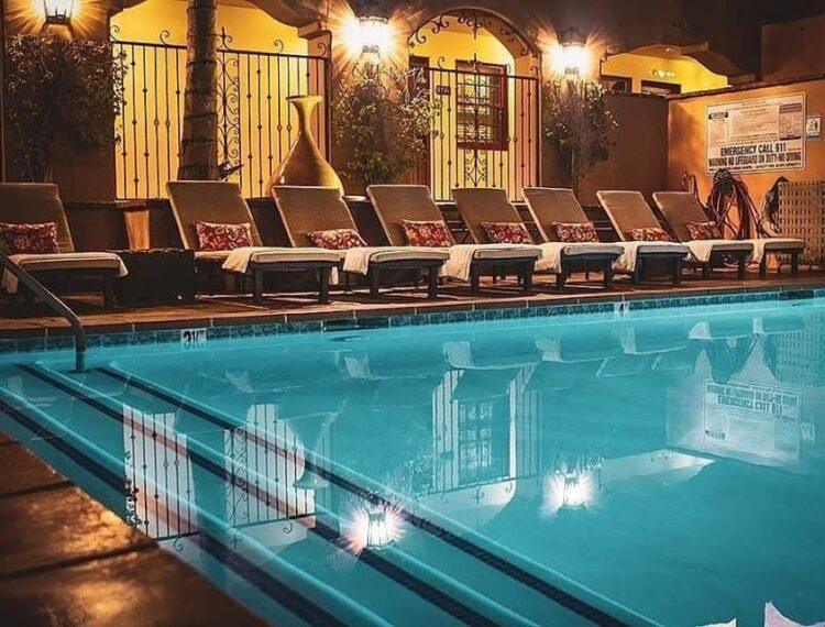 pool at andreas hotel