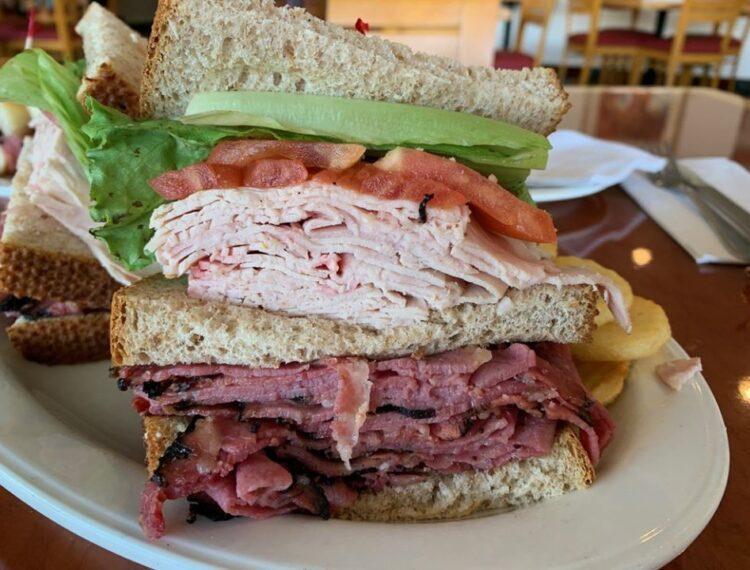 triple layer sandwich