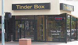 exterior of Tinder Box