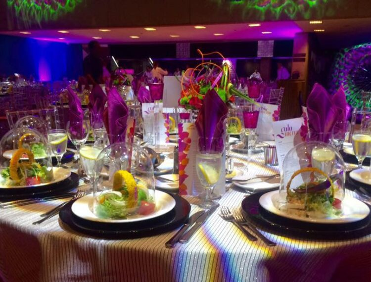 place settings at table