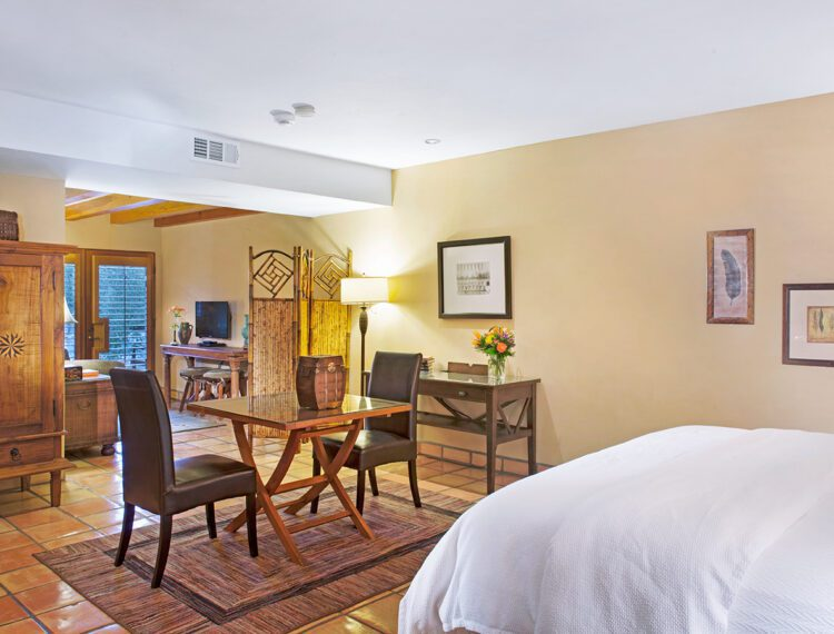 The Hacienda at Warm Sands guestroom