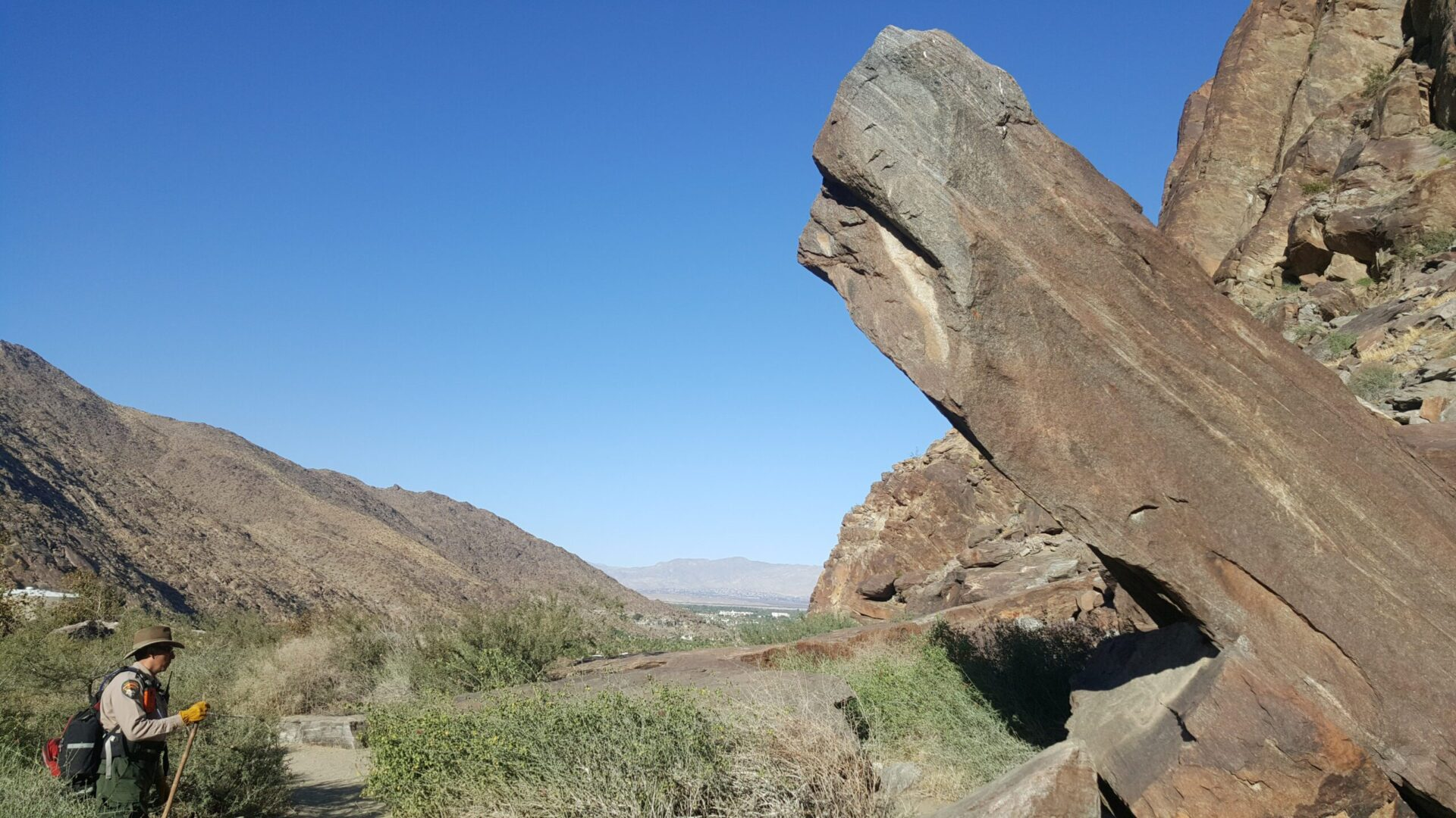 rock formation in canyon