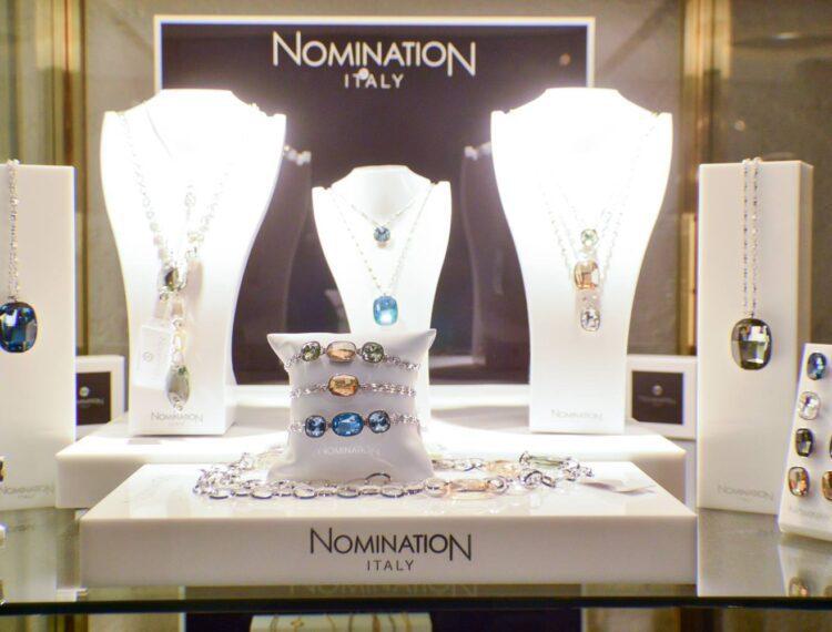 jewelry on display