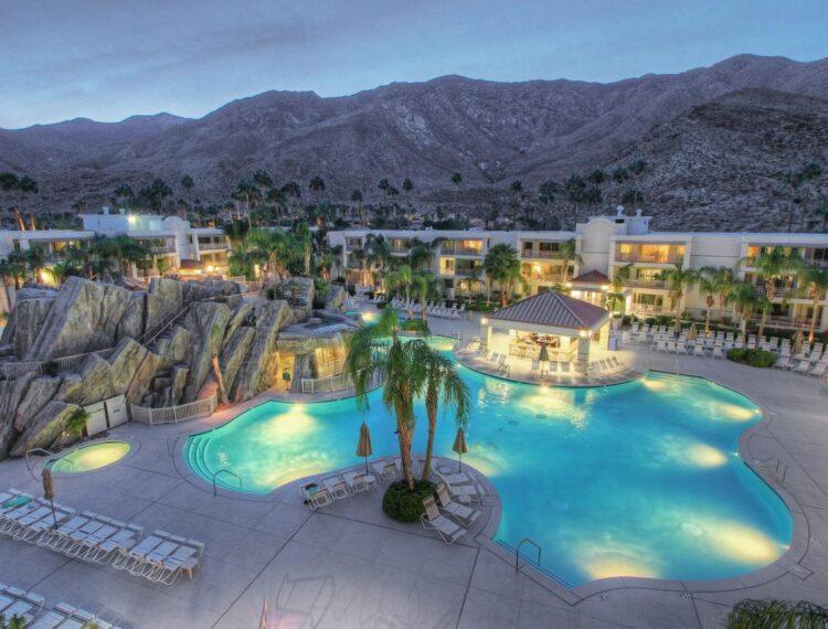 Palm Canyon Resort pool