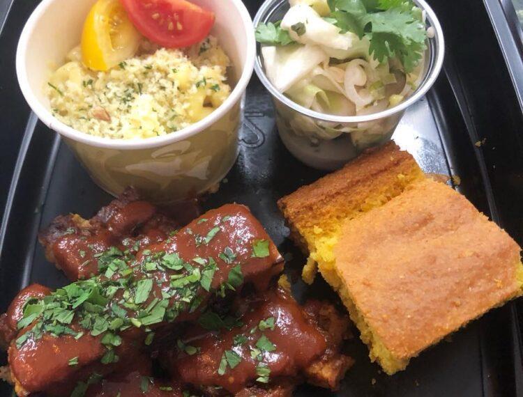 Chef Tanya's Kitchen rib plate
