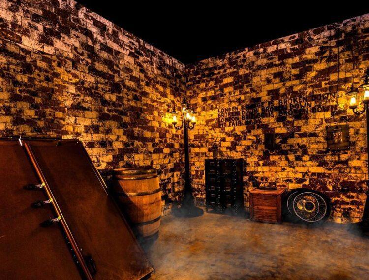 an escape room