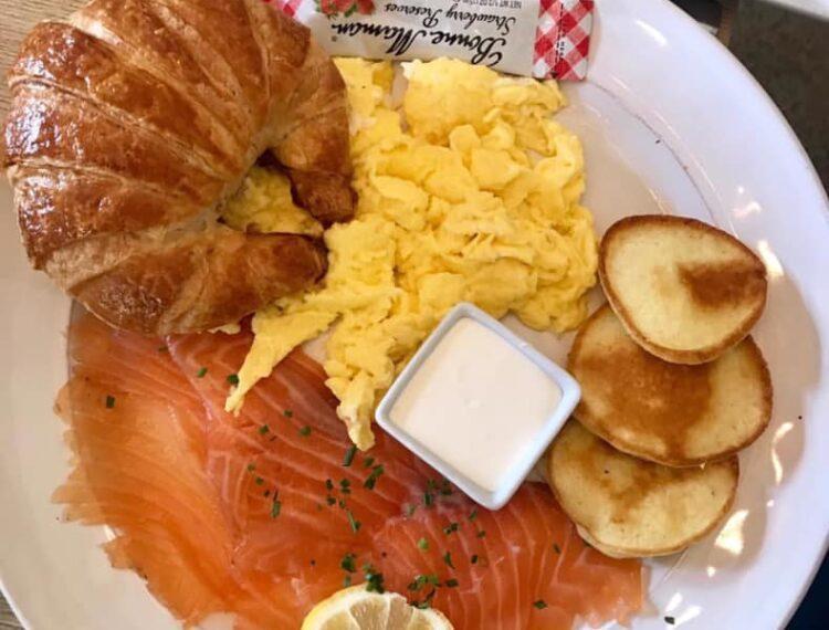 French Miso Café dish