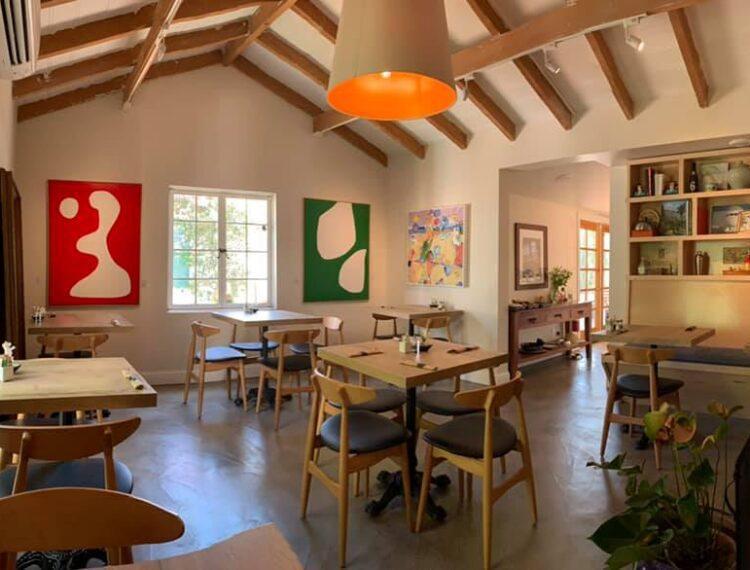 French Miso Café interior