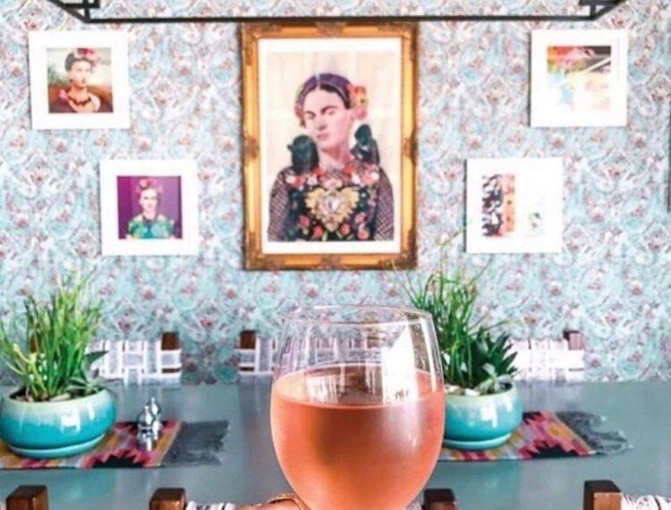Azucar Restaurant and Bar wall of art