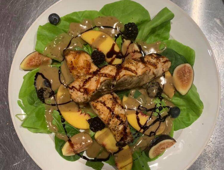 French Miso Café salad