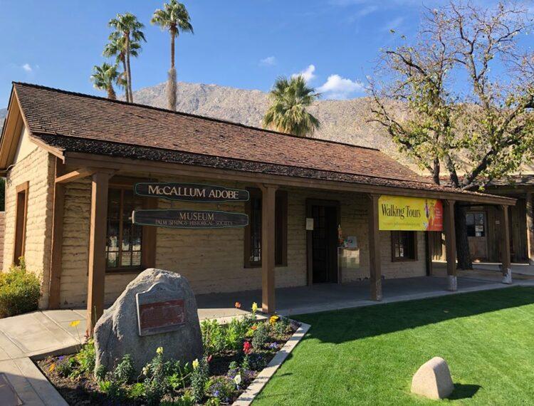 exterior of McCallum Adobe