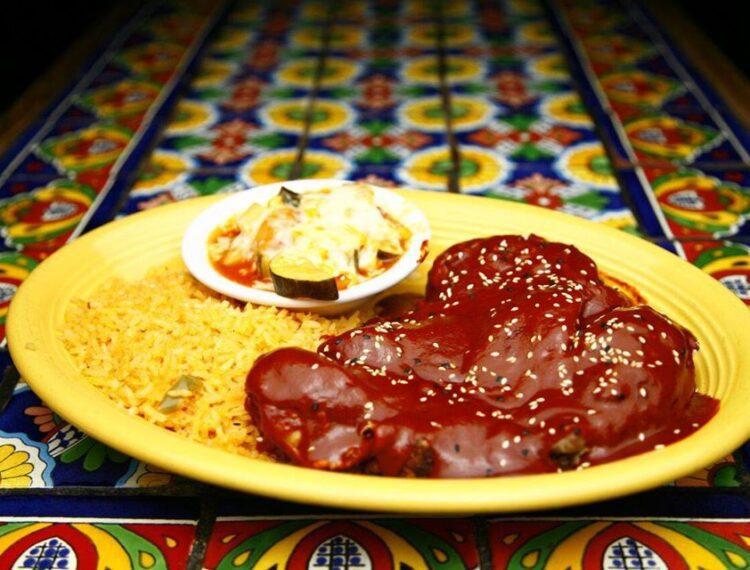 Mexican food dish