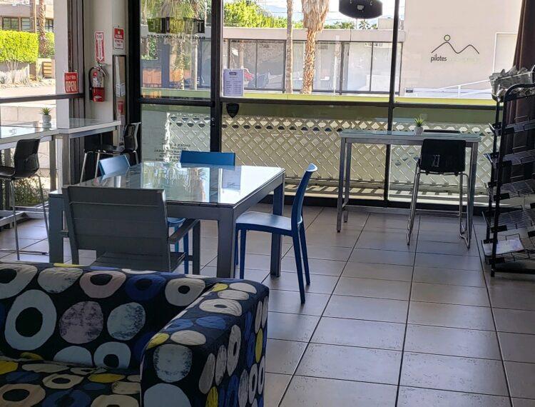 interior bagel shop