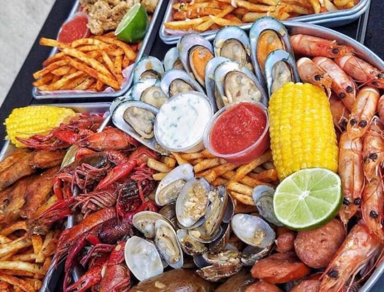 seafood and side dishes