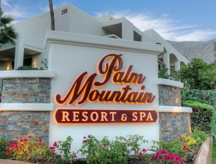 Palm Mountain sign