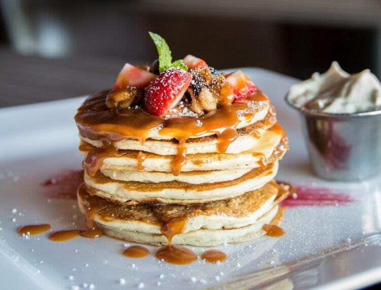 pancakes at Cheeky's
