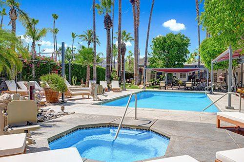 Desert Paradise pool