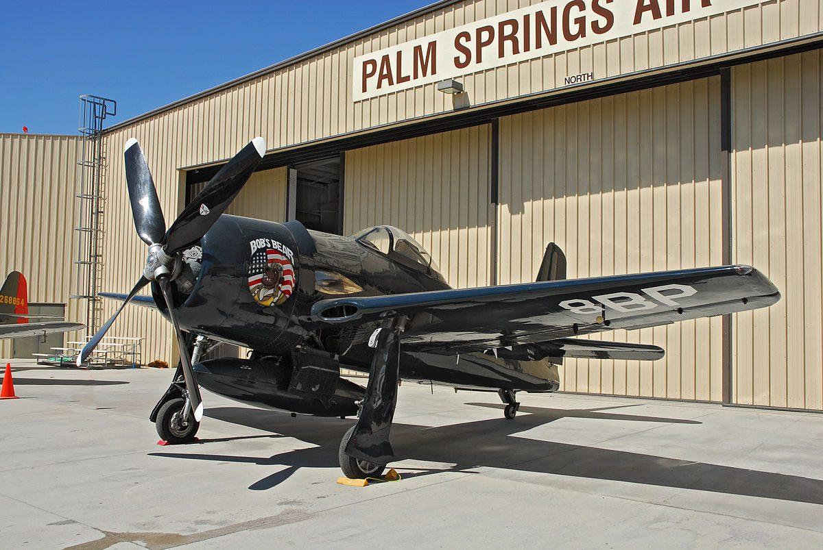 plane at Palm Springs Air Museum