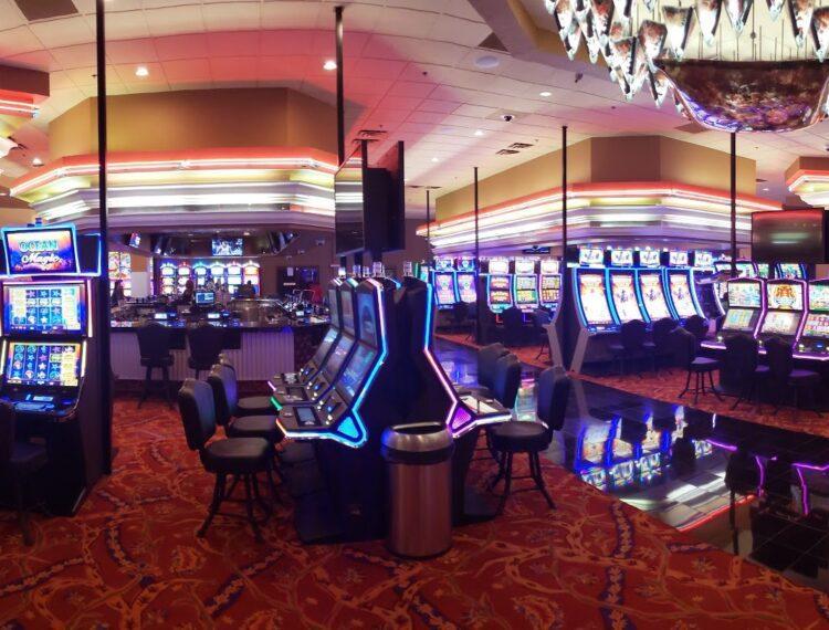 interior of casino