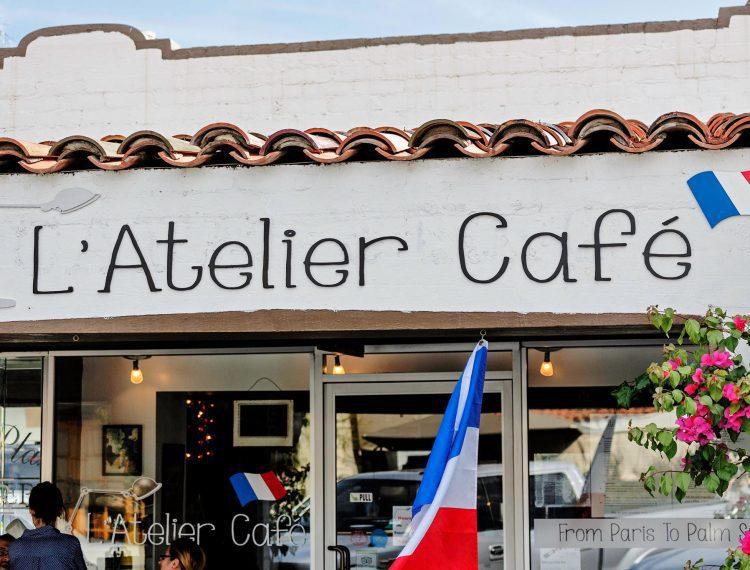 L'Atelier Cafe exterior