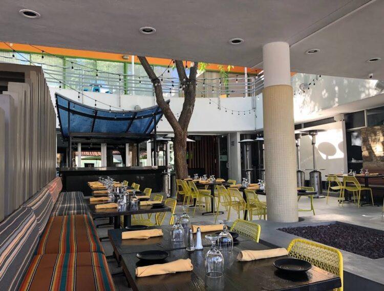 Antigua Kitchen + Bar dining room