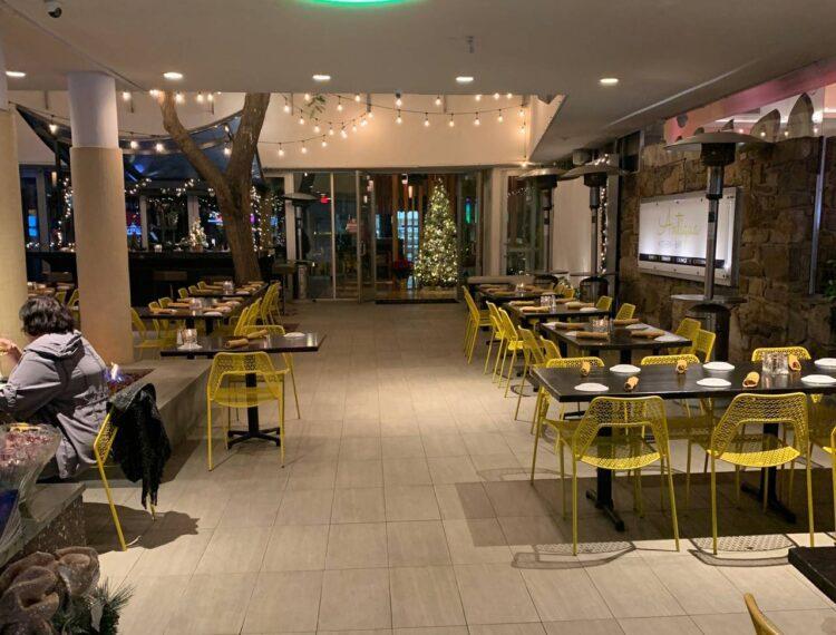 Antigua Kitchen + Bar patio