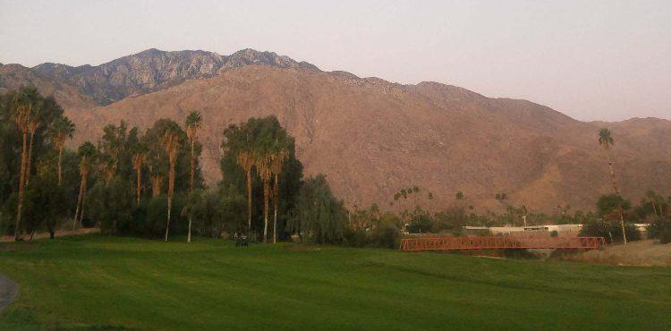 golf course mountain views