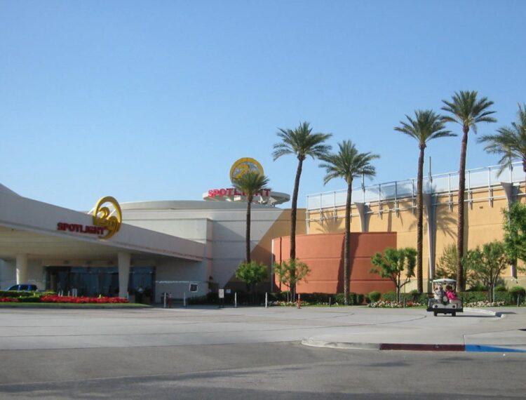 exterior of casino