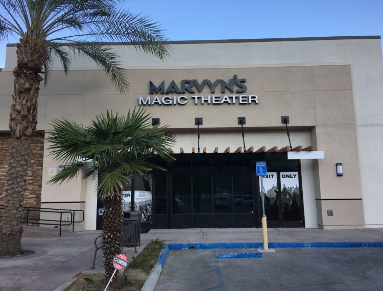 exterior of theatre