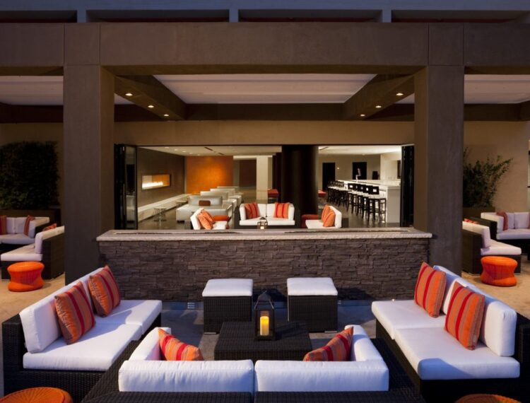 lobby at hyatt