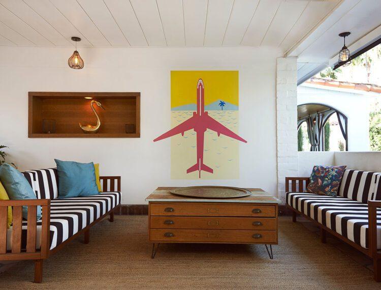 Villa Royale living room