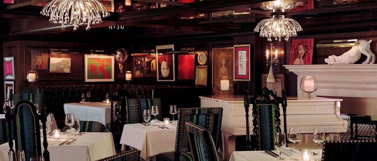 interior of restaurant mister parker