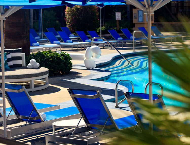 Renaissance Palm Springs Hotel poolside