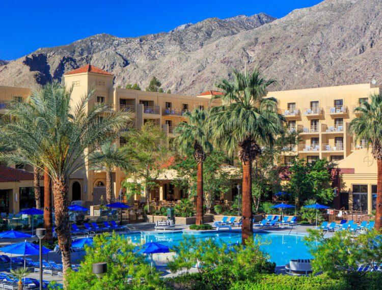 Renaissance Palm Springs Hotel pool