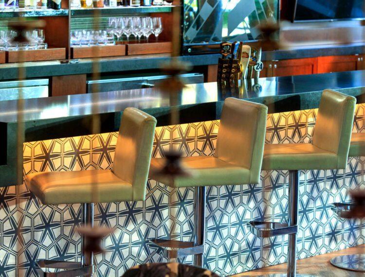 Renaissance Palm Springs Hotel lobby bar