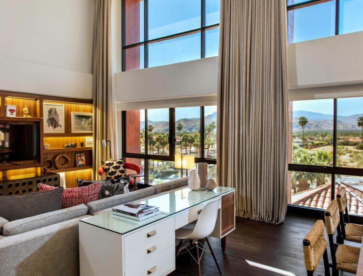 Renaissance Palm Springs Hotel suite