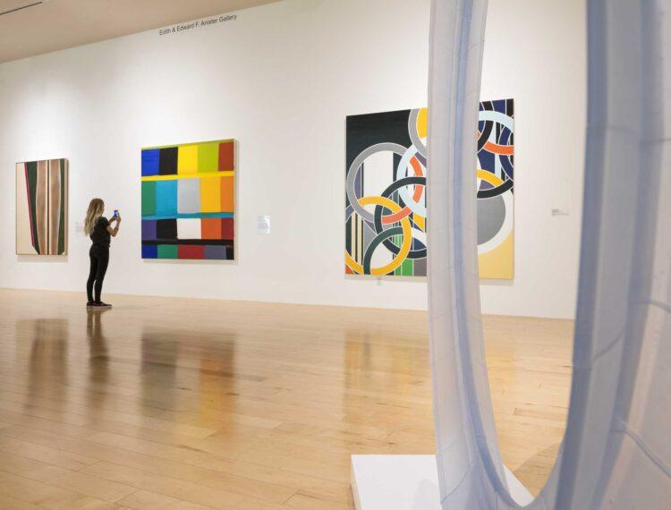 artwork in museum