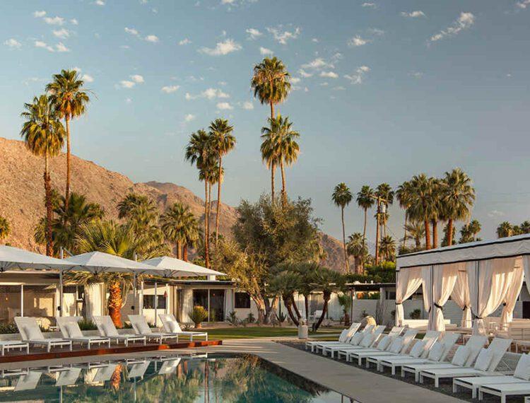 L'Horizon Palm Springs pool