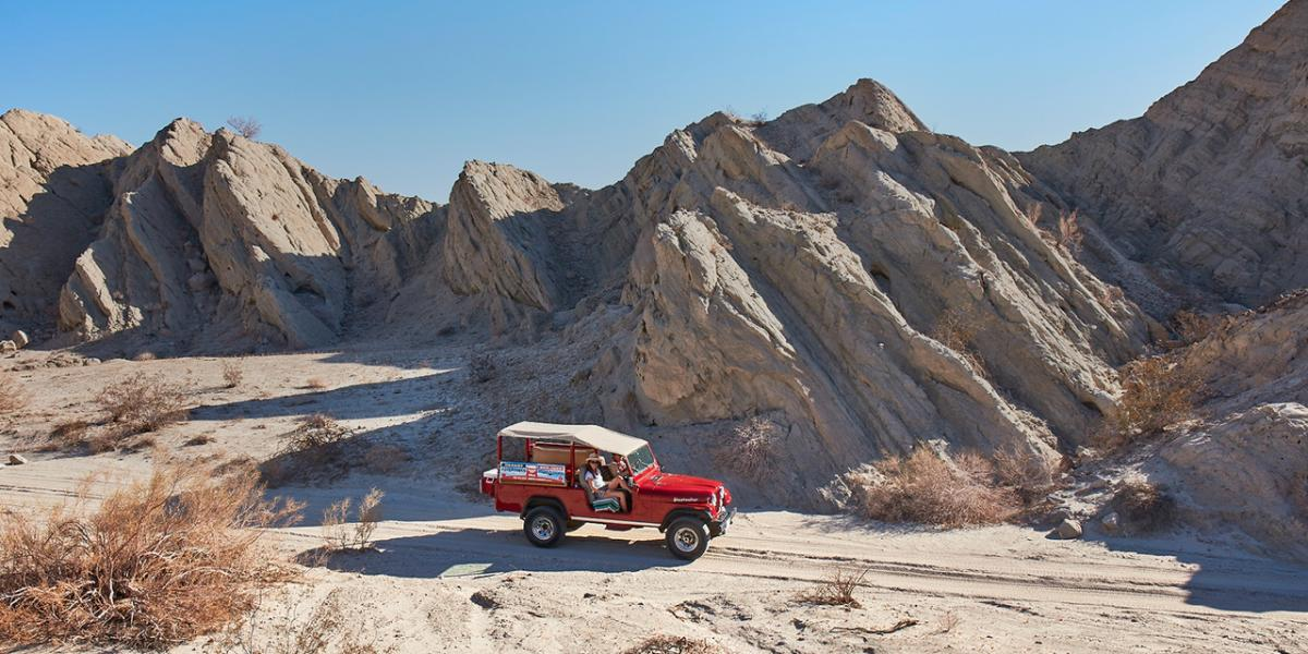 red jeep tour