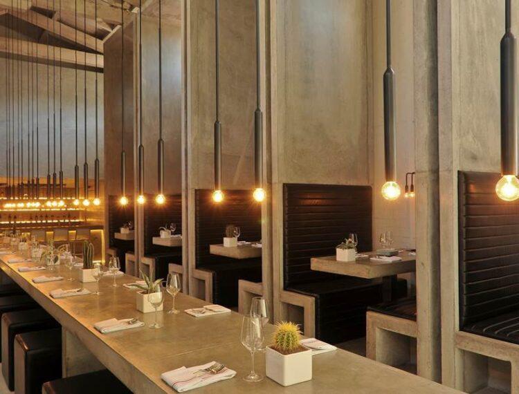 indoor seating workshop bar