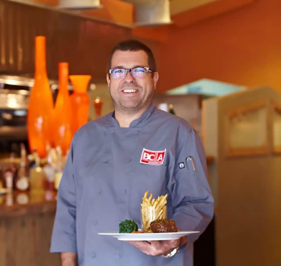 chef Johannes Bacher of palm springs