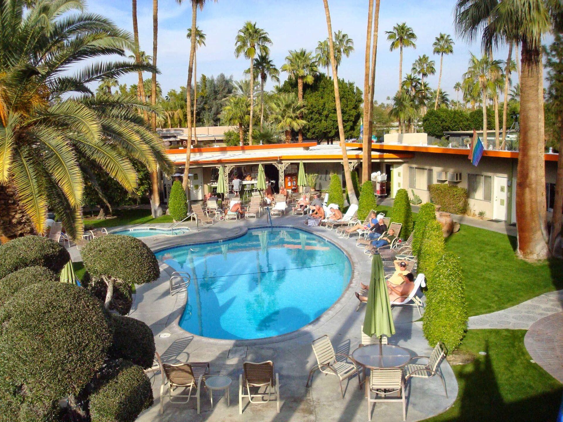 gay resort in palm springs