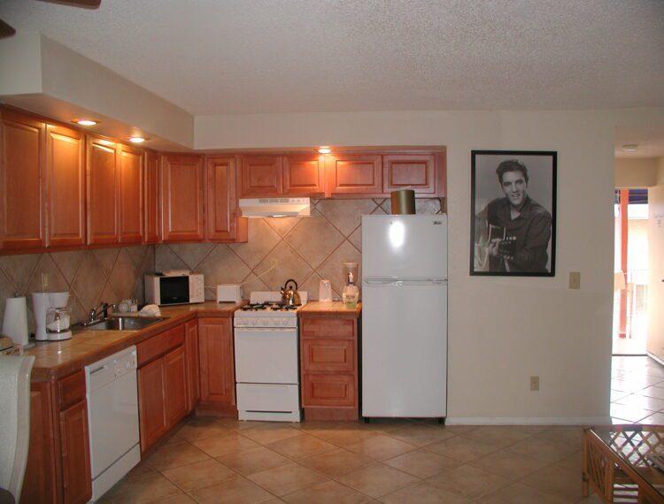 Kitchen in deluxe studio