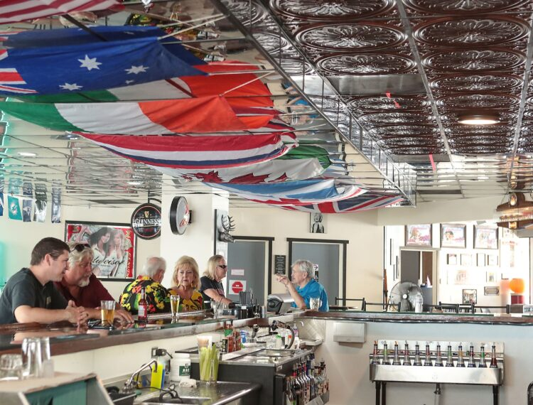 Hair Of The Dog interior