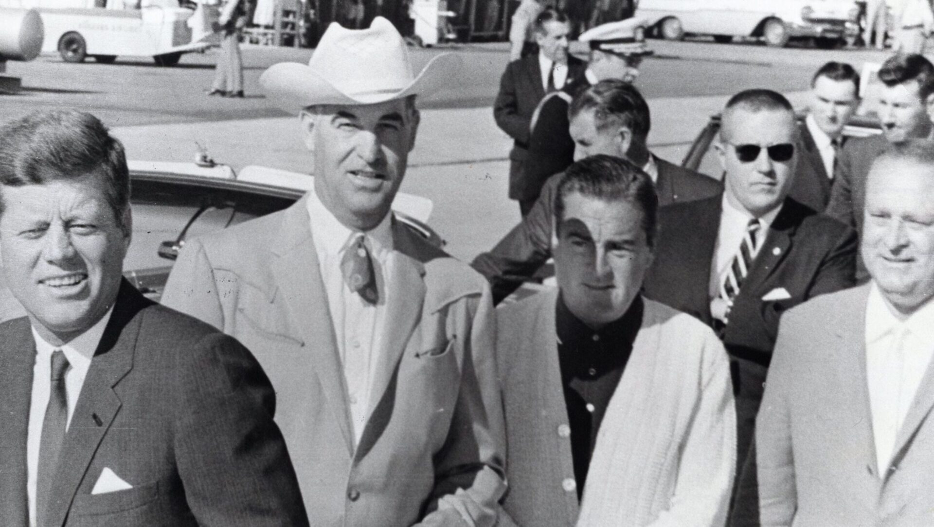 John Kennedy Mayor Frank Bogert