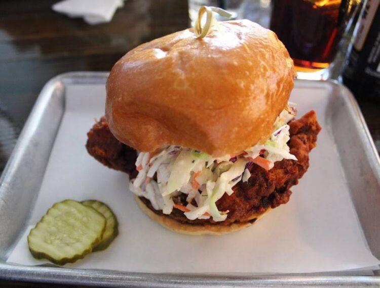 blackbook chicken burger
