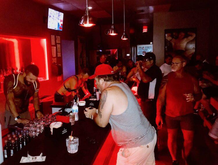 people at Eagle 501 Bar